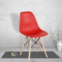 御目 椅子 现代简约书桌椅伊姆斯椅靠背椅塑料凳子家用电脑椅餐椅成人休闲椅满额减限时抢礼品卡创意家具