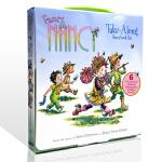 漂亮的南希6册英文原版 Fancy Nancy Take-Along Storybook Set 故事图画书 礼盒装含