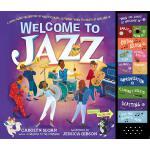 英文原版 爵士乐团发声书 儿童音乐启蒙 乐器认知 互动礼品书 Welcome to Jazz
