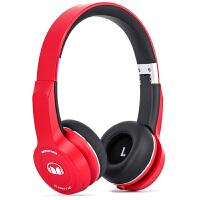MONSTER/魔声 灵晰HD 蓝牙耳机头戴式带麦 - 红色