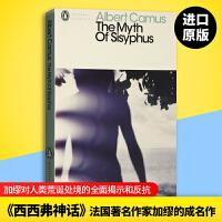 正版现货 西西弗神话 英文原版小说 The Myth of Sisyphus 加缪作品集 企鹅经典名著 诺贝尔文学奖 A