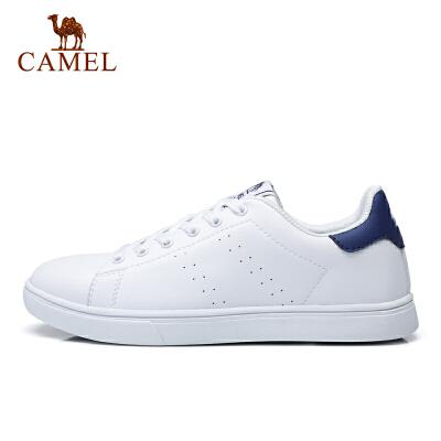 camel骆驼百搭时尚滑板鞋情侣款休闲鞋小白鞋男女
