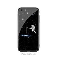ip太空钓鱼iPhone Xr手机壳Xs max防摔iPone苹果6/6s潮女ihone个性ip硬i 6/6S 太空钓