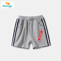 【1件3折】马卡乐童装22夏新款男宝宝时尚洋气舒适运动短裤