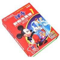 儿童学英语正版神奇迪士尼新概念视频英文动画卡通dvd光盘碟片
