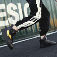 新百伦支撑 aj1男鞋球鞋黑红脚趾禁穿新款空军一号联名芝加哥乔1篮球高帮板鞋