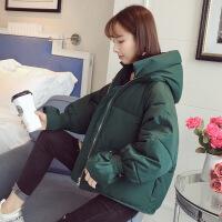 chic外套冬装羽绒棉衣服女短款棉袄2018新款韩版学生ins面包服潮