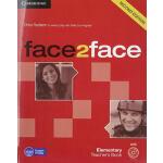 剑桥欧标CEFR预科/移民口语等级标准教材 Face2Face Elementary Teacher Book wit