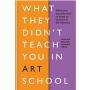 现货 在艺术学校没有教你的东西 英文原版 What They Didn't Teach You in Art School 作为一个艺术家 你需要知道什么才能生存