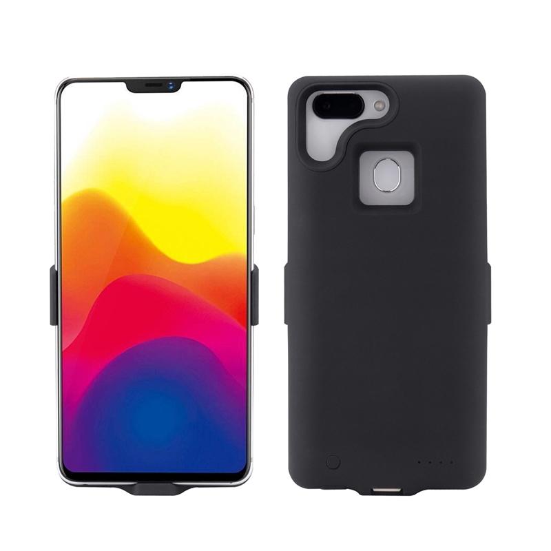 n6pro背夹电池n4s专用n7手机壳充电宝n5s无线快冲Q5plus超薄 【加强版】360N7磨砂黑 10000毫安