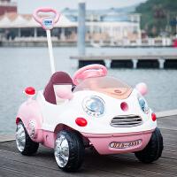 儿童电动玩具车可坐人卡通车摇摆可推男女宝宝四轮遥控婴儿汽车