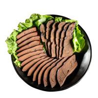 �Q�N�x烟熏腊猪肝500g袋五香味 猪肝 四川吹肝 特产香糯化渣