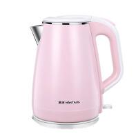 家用电热水壶304不锈钢自动断电双层烧水壶煮茶器