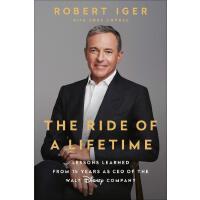 英文原版 现货 一生的旅程:迪士尼CEO罗伯特・艾格传记 The Ride of a Lifetime by Rober