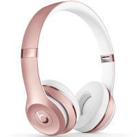 Beats Solo3 Wireless 头戴式 蓝牙无线耳机 手机耳机 游戏耳机 Beats耳机 玫瑰金 MNET2