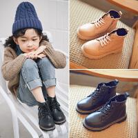 女童秋季英伦风男童鞋低筒儿童小女孩鞋