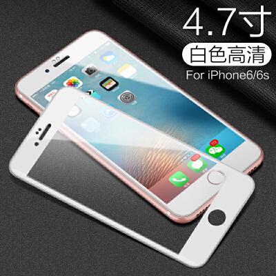 20190721132330830iphone6钢化膜6s苹果6plus全屏覆盖3D曲面4.7手机贴膜六5.5水凝玻璃6P