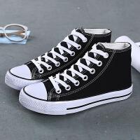 春季新款帆布鞋女韩版百搭学生低帮板鞋小白鞋潮子