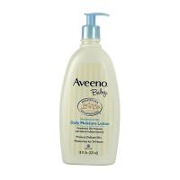 保税仓发货 美国Aveeno Baby艾维诺宝宝燕麦舒缓润肤保湿乳液532ml 天然燕麦 敏感肌适用