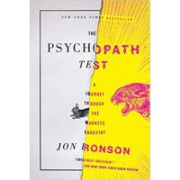 英文原版 疯狂心理学 The Psychopath Test: A Journey Through the Madne
