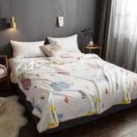 珊瑚绒毛毯冬季加厚毯子薄款办公室午睡空调毛巾被盖毯