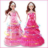 智能洋娃娃会走路唱歌跳舞遥控电动芭芘娃炫舞公主故事机女孩玩具