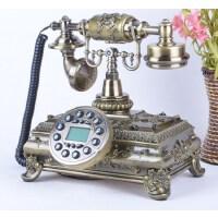 至臻欧式时尚来电显示仿古电话机复古创意老式家用固定座机礼品