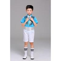 六一男童演出服 亮片演出服幼儿园表演服 中小学生演出服儿童演出