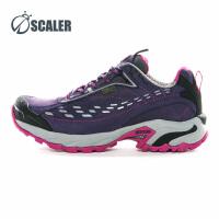 思凯乐户外低帮徒步鞋女防水透气防滑耐磨越野跑步登山鞋