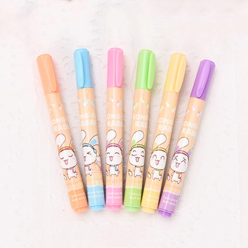 乌龟先森 马克笔 创意可爱糖果香味荧光笔彩色重点标记笔男女学生奖品