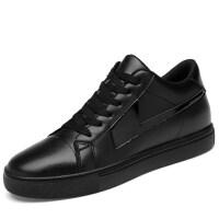 品牌内增高6板鞋韩版百搭休闲皮鞋男生时尚潮鞋学生隐形增高8男鞋