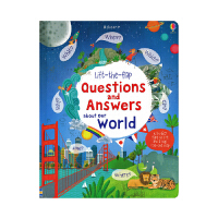 Usborne Lift-the-flap Q&A about Our World 我们的世界百科绘本 英语问答纸板翻