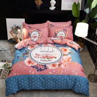 旗舰 2019网红新款 床单单件寝室床上三件套被单人被罩2秋冬季纯棉被套两件套双加厚