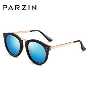 帕森时尚新款偏光太阳镜女时尚复古炫彩墨镜女士开车偏光眼镜9555