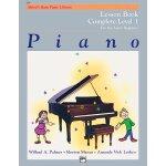 英文原版 Alfred's基础钢琴课程,1级合订本 Alfred's Basic Piano Library Less