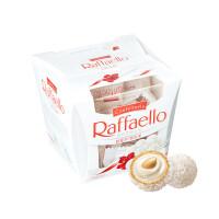 费列罗 Raffaello 拉斐尔巧克力 椰蓉扁桃仁糖果酥球15粒装 150克