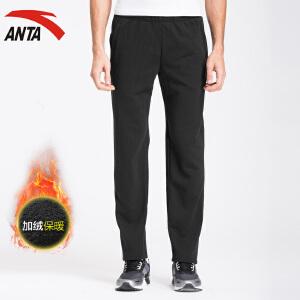 anta男裤运动裤男装冬季运动长裤休闲加绒加厚跑步运动裤15641746