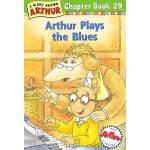 Arthur Plays the Blues(Chapter Book 29)亚瑟小子学蓝调音乐 ISBN 9780316123143