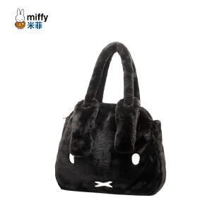 米菲2016冬季毛毛包 韩版时尚女包毛绒手提包可爱萌单肩包大包包