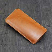 三星S7 手机包 袋保护套e+直插皮套G9250内胆包s7e全包 5.1寸黄棕 裸机版