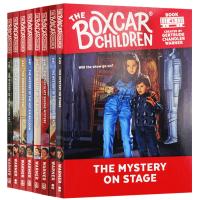 棚车少年41-48册套装 英文原版 The Boxcar Children Mysteries Books 儿童章节桥梁