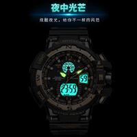 新款中学生夜跑运动夜光防水电子表 青少年户外运动跑步男孩s表男士手表