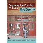 【预订】Engaging the Families of ELLs 9781138432673