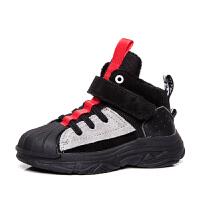 男童棉鞋秋冬儿童冬鞋男中大童女童运动鞋加绒棉鞋