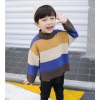 男童毛衣套头儿童秋冬款宝宝时尚针织衫冬装