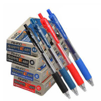 爱好中性笔489水笔 按动中性笔 办公水笔 按挚式中性笔