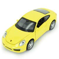 嘉业 仿真保时捷911合金车模型 声光回力儿童玩具汽车