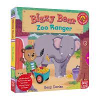Bizzy Bear 英文原版图书绘本 Zoo Ranger 小熊好忙 动物园 英语互动操作机关书 儿童英文原版进口图
