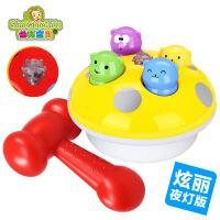 热卖大号打地鼠游戏灯光特殊音效电动益智玩具亲子互动夜灯版2025