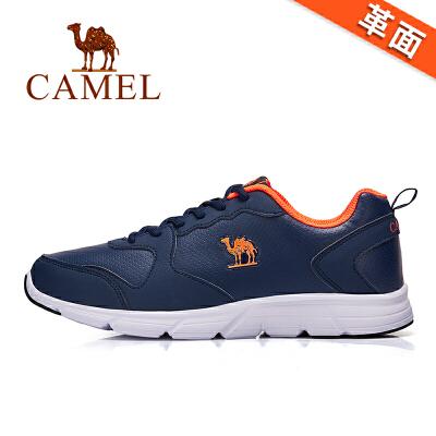 骆驼牌情侣鞋新款休闲运动鞋男鞋健步防滑跑步鞋男女鞋